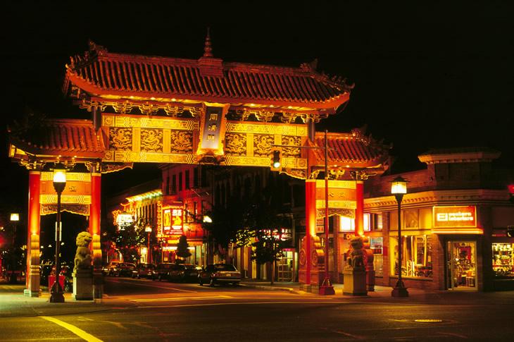 Gate of Harmonius Interest, Chinatown, Victoria, British Columbia