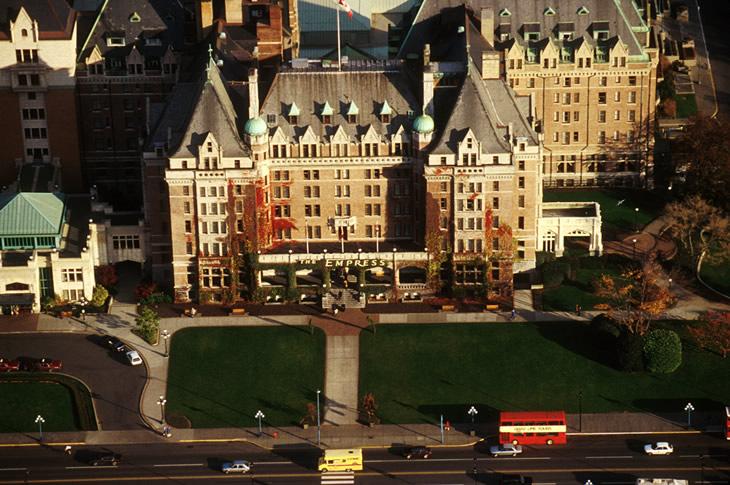 Victoria Empress Hotel, Vancouver Island, British Columbia