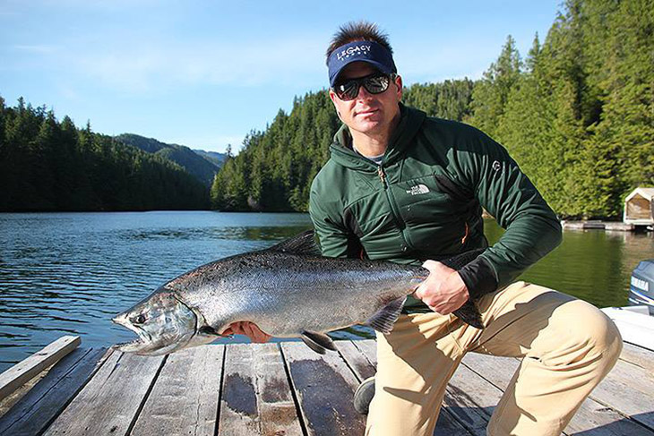 Legacy Lodge offers premier sportfishing out of Rivers Inlet on the Central Coast of British Columbia.