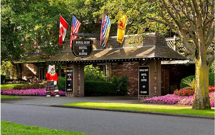 Royal Scot Hotel & Suites, James Bay, Victoria, Vancouver Island, British Columbia, Canada