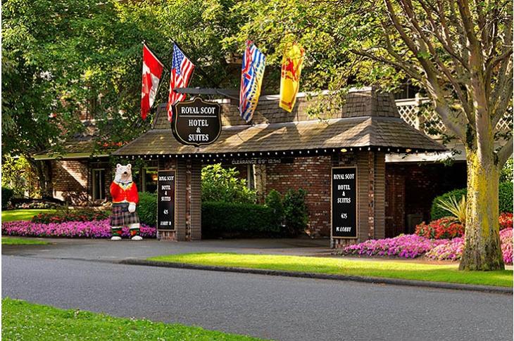 Royal Scot Hotel & Suites, James Bay, Victoria, Vancouver Island, British Columbia, Canada