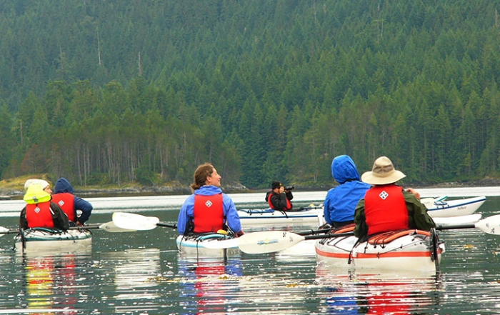 Wildcoast Adventures Kayak Tours & Vacations, Quadra Island, Discovery Islands, British Columbia
