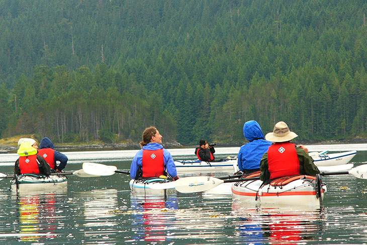 Wildcoast Adventures Kayak Tours & Vacations, Quadra Island, Discovery Islands, British Columbia