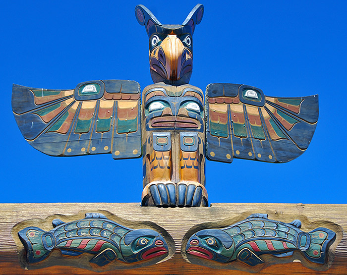 Totem Pole, Discovery Harbour Centre, Campbell River
