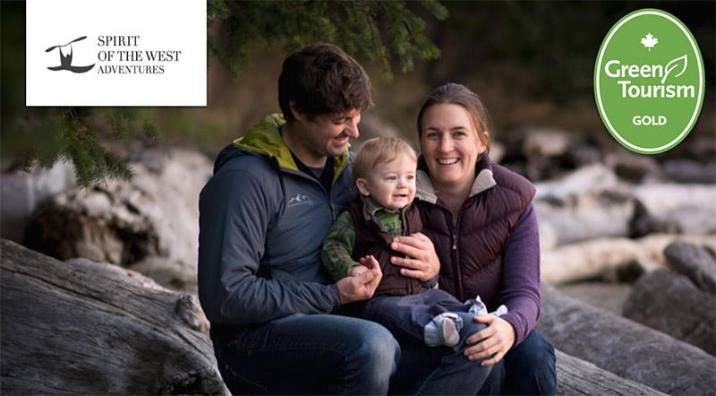 Green Tourism in British Columbia: Spirit of the West Adventures, Quadra Island, BC