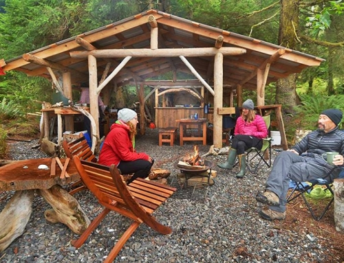 Orca Dreams: Whale watching in ultimate camping comfort in the wilderness off Vancouver Island
