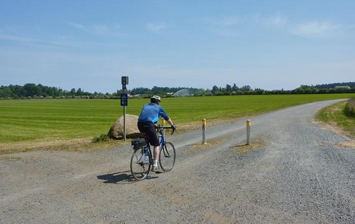 paving-paradise-on-lochside-trail-biker-versus-rider-victoria-british-columbia