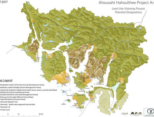 Clayoquot Sound Lands to be Protected by Ahousaht First Nation