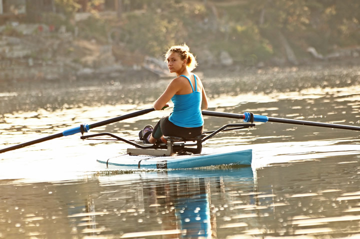 Oar Board® Rower, Standup Paddle Board Adventure, Whitehall Rowing and Sail