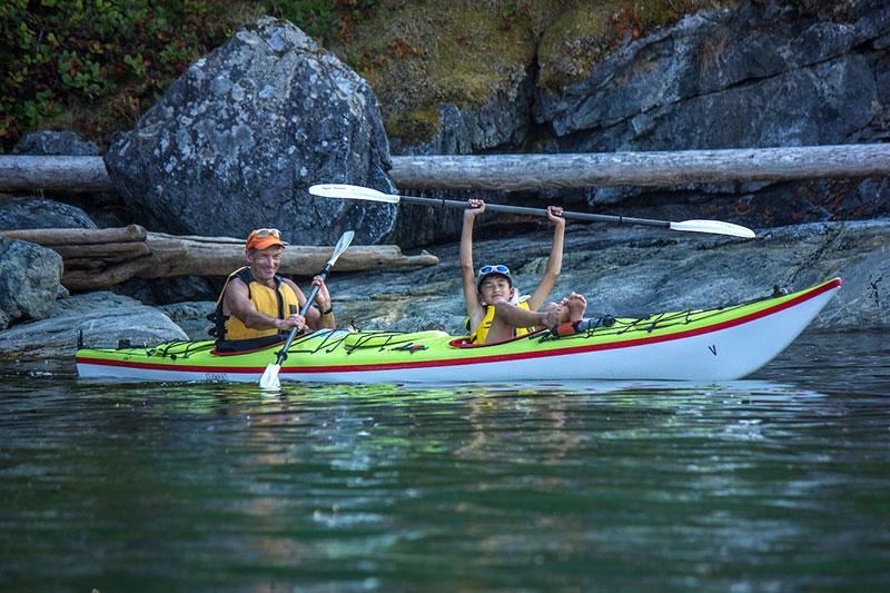 Powell River Sea Kayak, Desolation Sound, British Columbia
