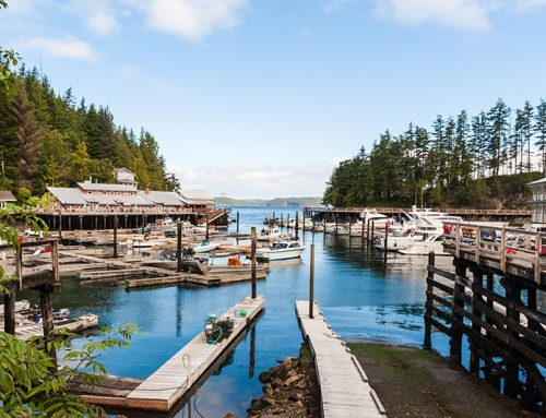 Quaint Telegraph Cove, Northern Vancouver Island, BC