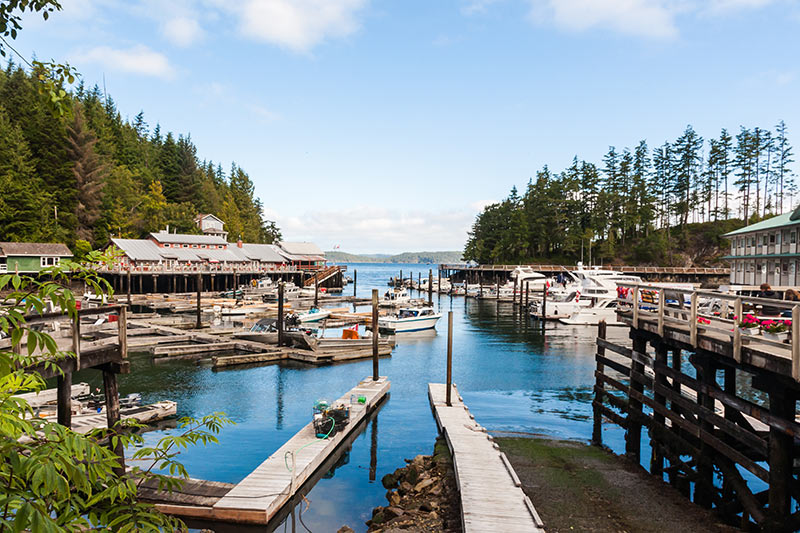 Telegraph Cove, Northern Vancouver Island, British Columbia