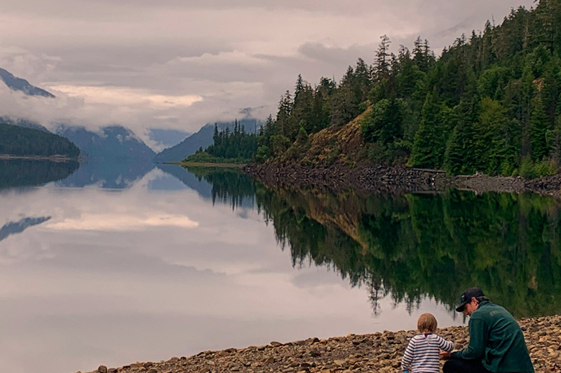 FarOut Wilderness: Buttle Lake, Strathcona Provincial Park, Vancouver Island, British Columbia
