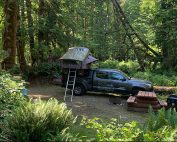FarOut Wilderness: Adventure Camping at Lake Cowichan Recreation Site Vancouver Island, British Columbia