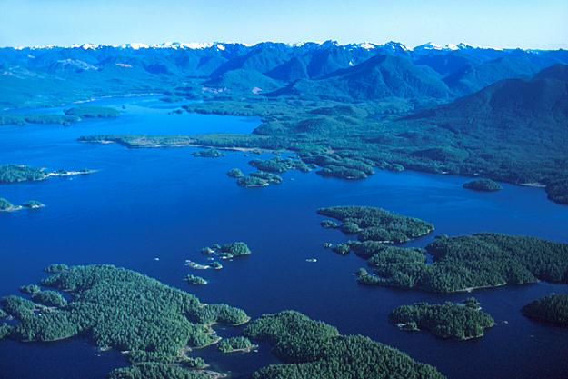 Broken Group Islands, Vancouver Island, British Columbia