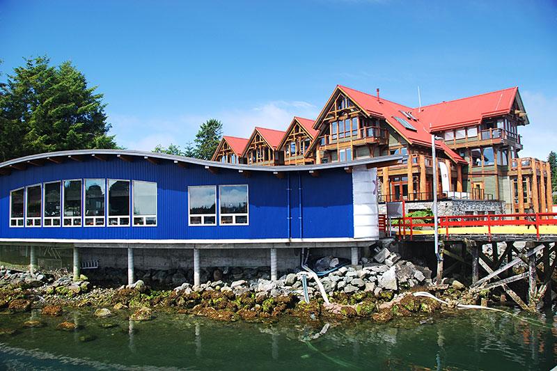 Ucluelet Aquarium, Ucluelet Harbour, Vancouver Island, British Columbia, Canada