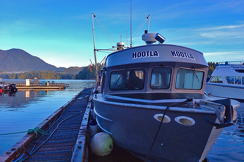 Fast, safe and comfortable Hot Springs Cove tour boat. Photo: The Whale Centre, Tofino