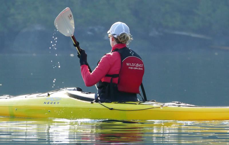 Kayaking Vacation British Columbia Vancouver Island Canada Wildcoast Holiday