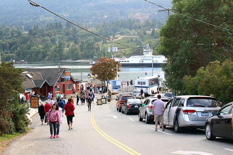 At the Market: A Day on Salt Spring Island, British Columbia, Canada