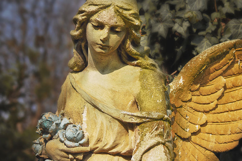 15 Haunted Places in Victoria, Vancouver Island, British Columbia, Canada: Cemetery Angel