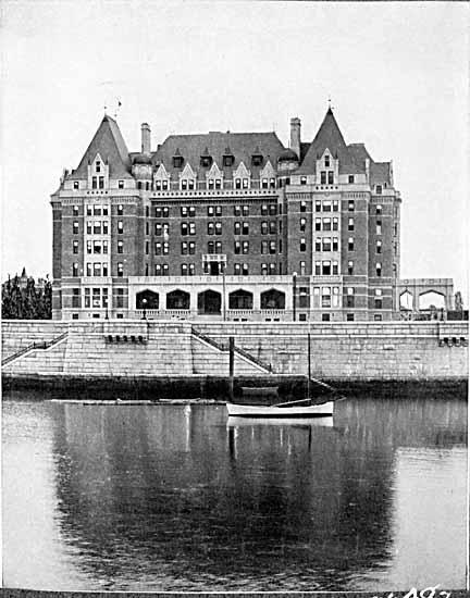 15 Haunted Places in Victoria, Vancouver Island, British Columbia, Canada: Empress Hotel