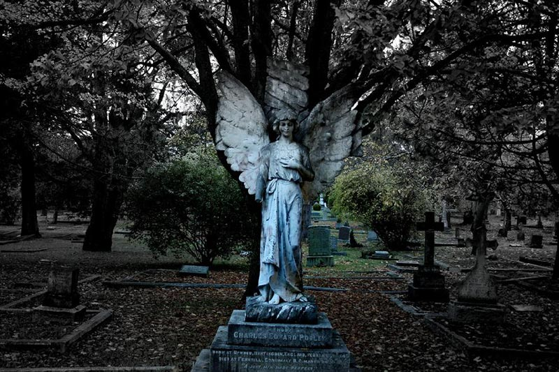 15 Haunted Places in Victoria, Vancouver Island, British Columbia, Canada: Ross Bay Cemetery
