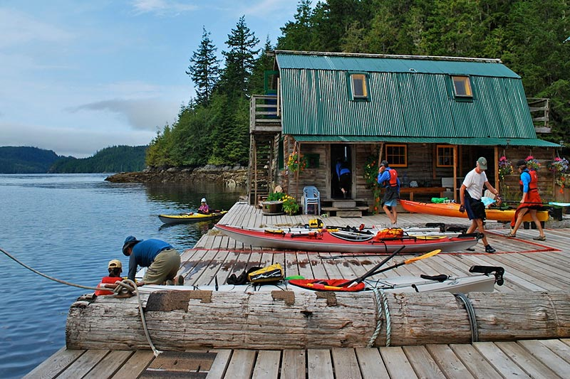 BC People: Bruce and Josée McMorran, Paddler's Inn Broughton Archipelago