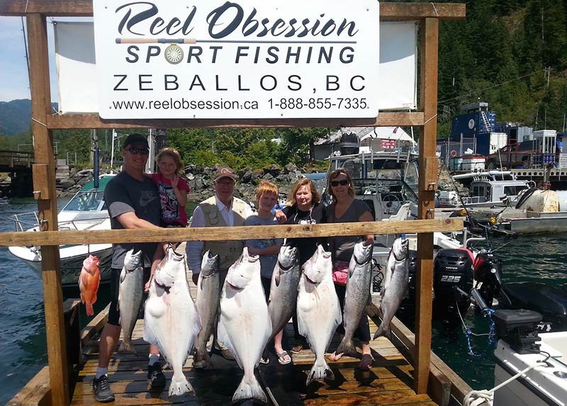 Adrian O'Connor and Reel Obsession Sport Fishing, Victoria and Zeballos, Vancouver Island, British Columbia, Canada