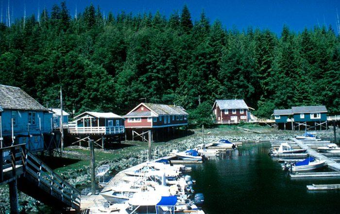Telegraph Cove, Vancouver Island, British Columbia, Canada