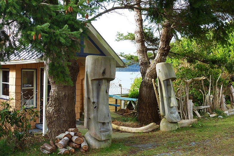 Cycling Malcolm Island: Place of Harmony, Northern Charm by Gregg Strong, Backroads Bike Touring, Vancouver, British Columbia