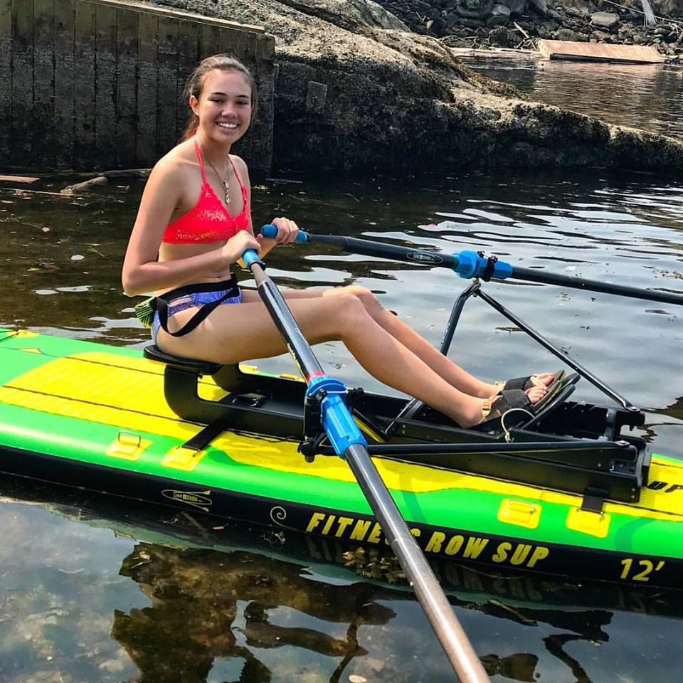 Oar Board® Rower and inflatable SUP, Whitehall Rowing and Sail