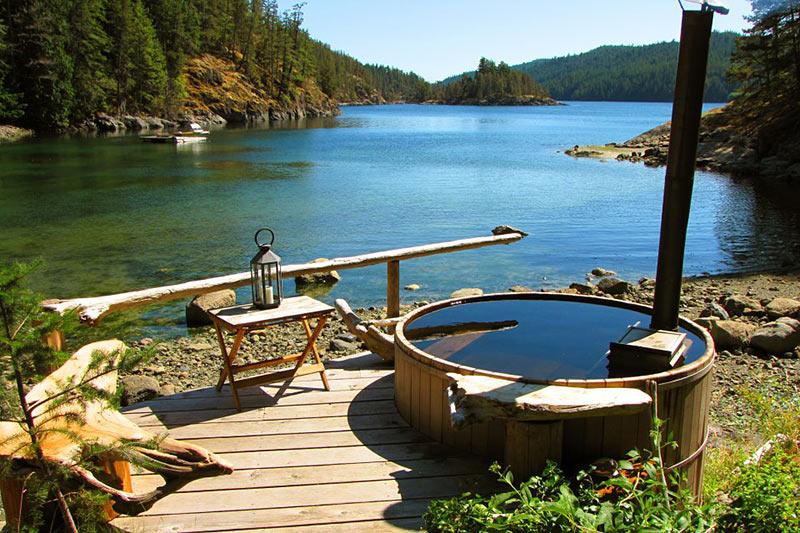 The Flow Wilderness Retreat, Maurelle Island, Discovery Islands, British Columbia