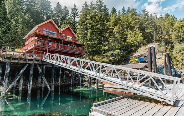 Discovery Islands Lodge, Quadra Island, Discovery Island, British Columbia